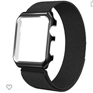 40mm 2-in-1 Magnetic Apple Watch Band/Bumper Combo